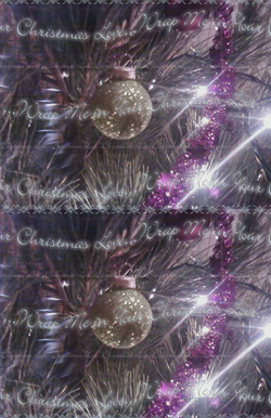 Sparkle Tree Wrapping Paper 11x17