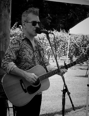 Dave Goodrich at Gray Ghost Vineyards
